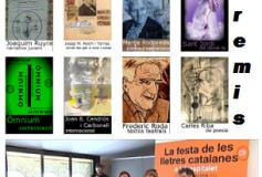 La Nit de Santa Llúcia o Festa de les Lletres Catalanes a L'Hospitalet, mercès a Òmnium Cultural