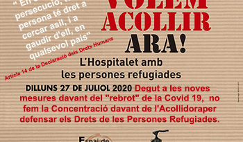 27 de juliol no fem la Concentració davant de l'Acollidora